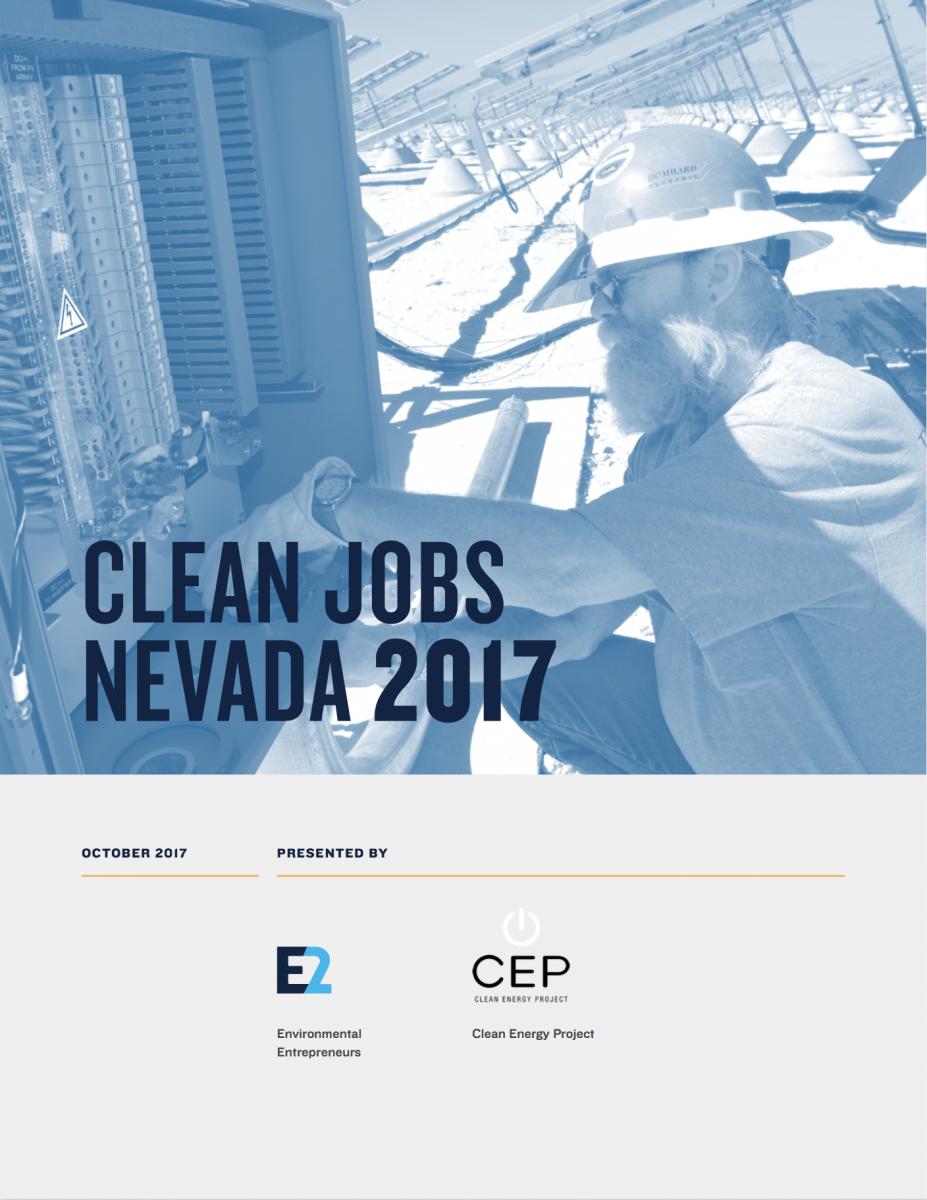 Clean Jobs Nevada 2017 E2