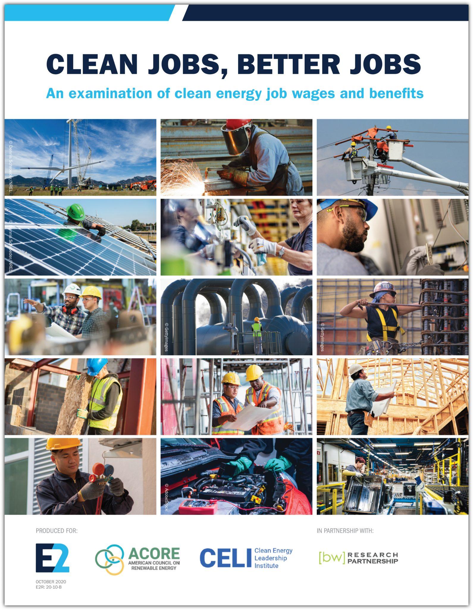 Clean Jobs, Better Jobs